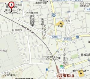 東松山地図