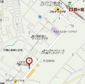鶴ヶ島地図